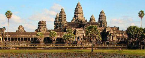 Foto: Descubren una ciudad perdida en Camboya empleando sónar y láser