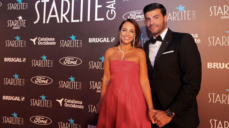 Paula Echevarría y su look de alfombra roja que también llevó Palito Dominguín