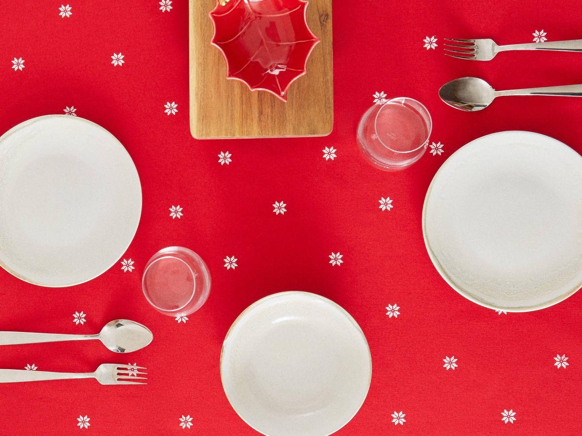 Foto: Manteles de Zara Home para decorar tu mesa esta Navidad. (Cortesía)