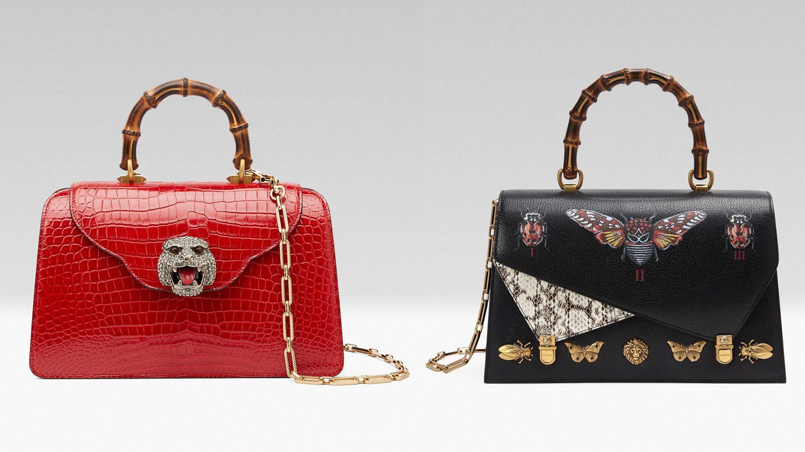 dbcef4940 Gadgets: Gucci homenajea con sus nuevos bolsos a su mítico asa de bambú
