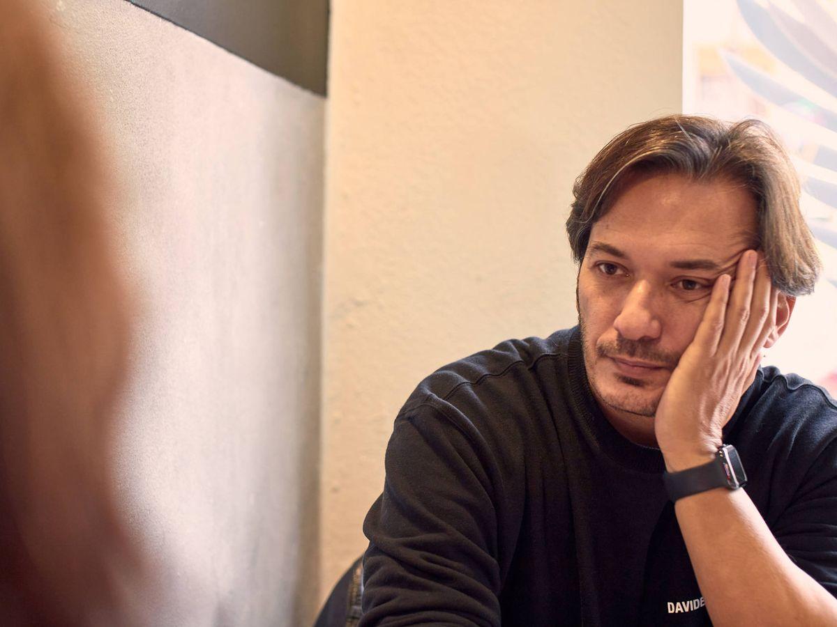 Foto: El director, guionista y productor de televisión, Alberto Caballero. (J. Á. M.)
