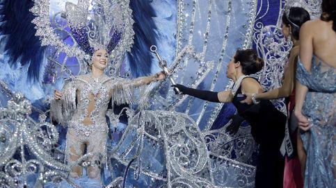 Sara Cruz, coronada reina en el Carnaval de Tenerife 2020
