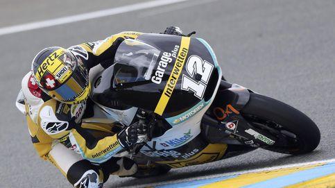 Thomas Luthi aprovecha la caída de Rins para ganar por delante de Rabat