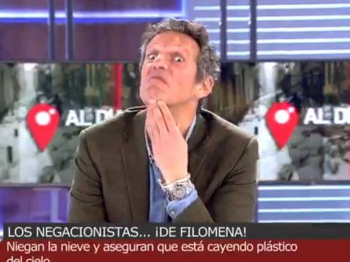 Foto: Joaquín Prat, en 'Cuatro al día'. (Mediaset)