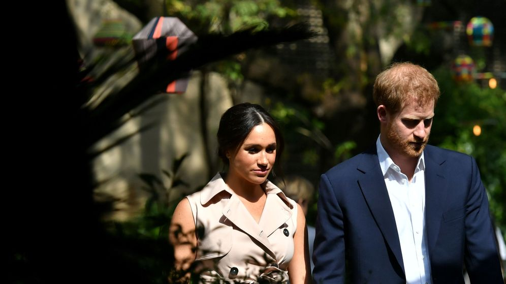 Foto: Los duques de Sussex. (Reuters)
