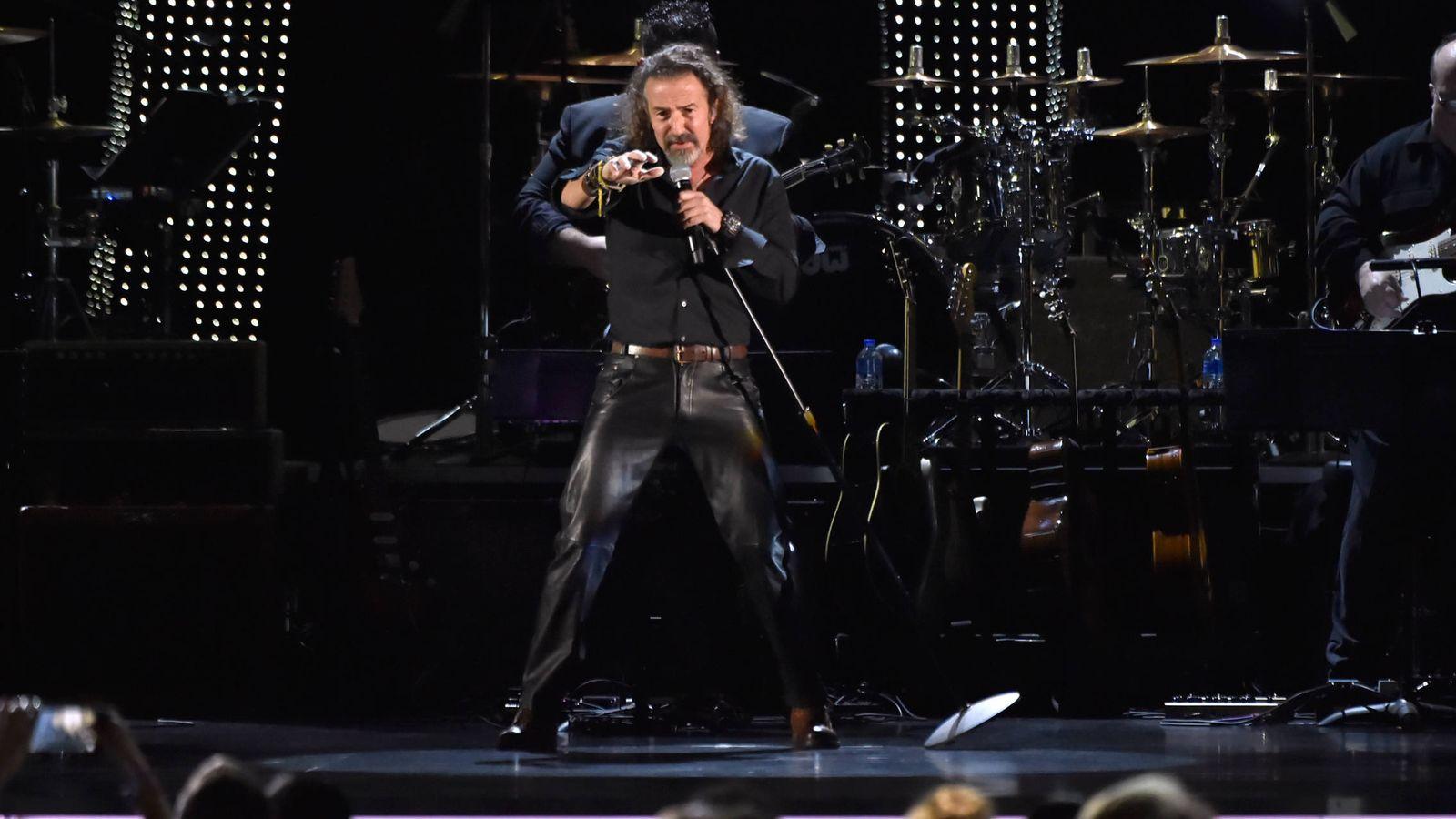 Foto: Cano, en los Grammy latinos. (Getty)