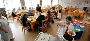Foto: El comedor de la gente sin 'tupper'