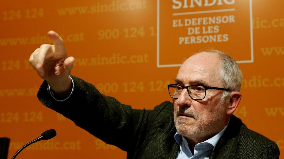 Foto: El Síndic de Greuges, Rafael Ribó. (EFE)