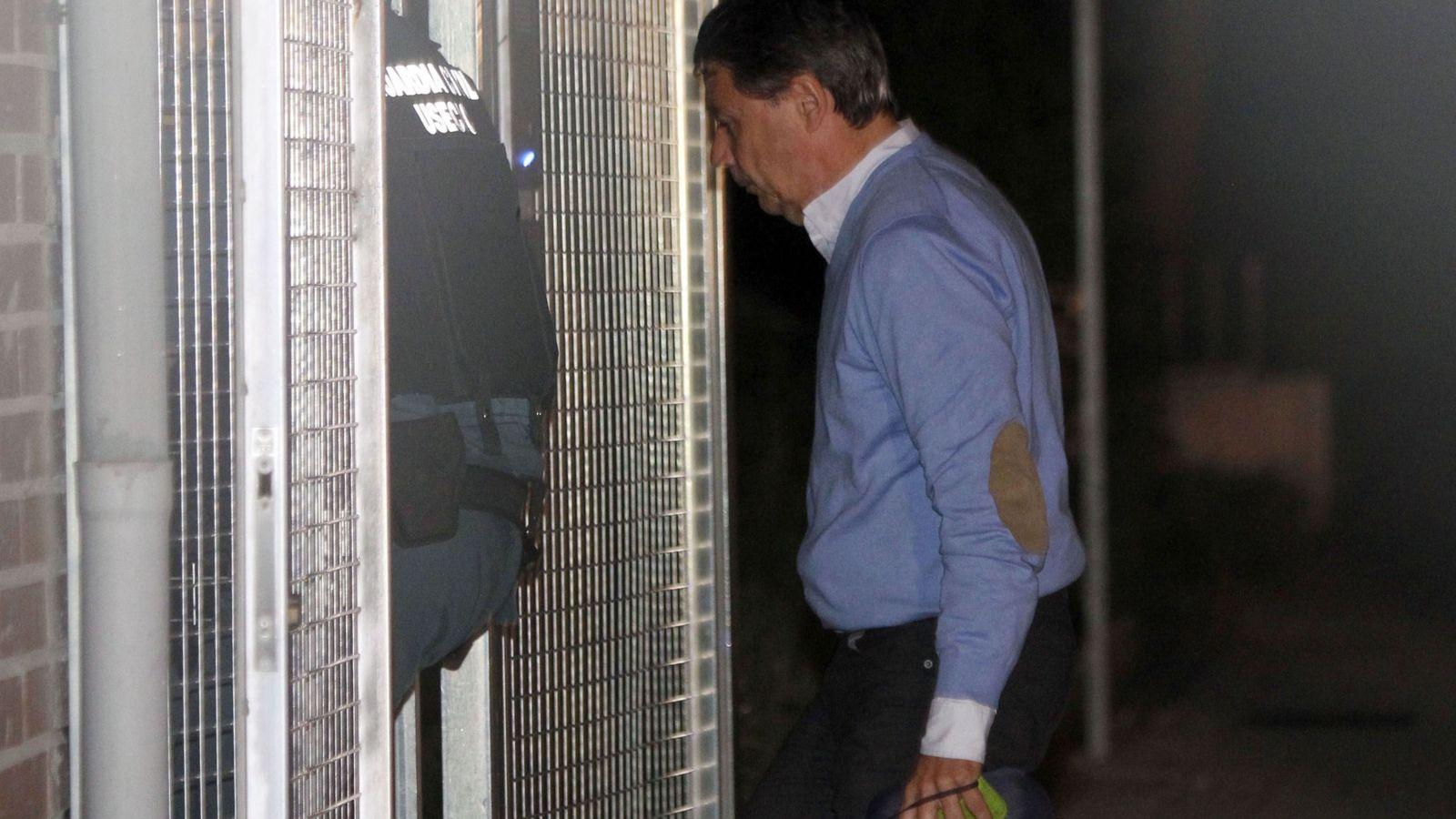 Foto:  El expresidente de la Comunidad de Madrid, Ignacio González, detenido por supuesta corrupción en el Canal de Isabel II. (EFE)