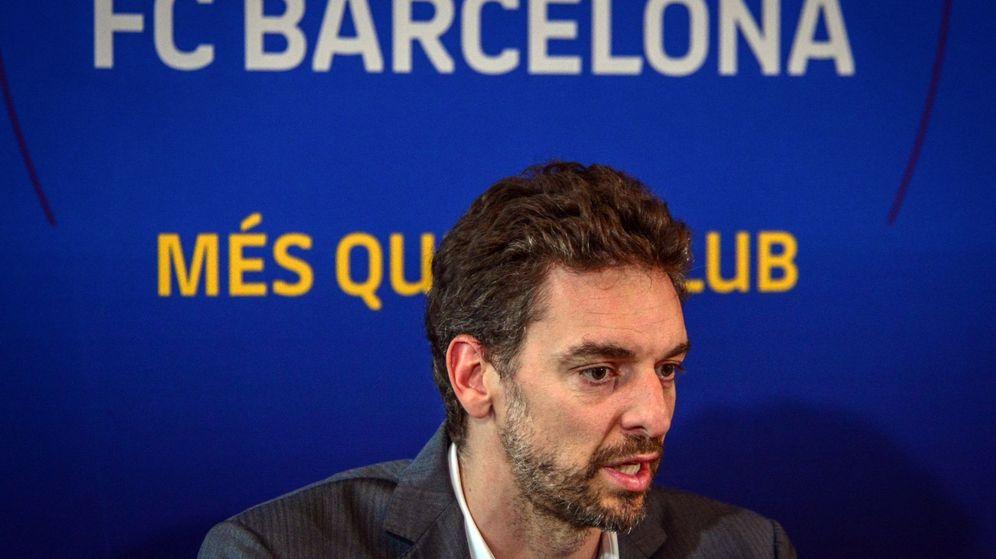 Foto: Pau Gasol es embajador del FC Barcelona desde hace unos meses. (EFE)
