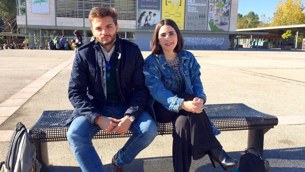 Estudiantes contra la independencia: Se pasan el día llamándonos fascistas