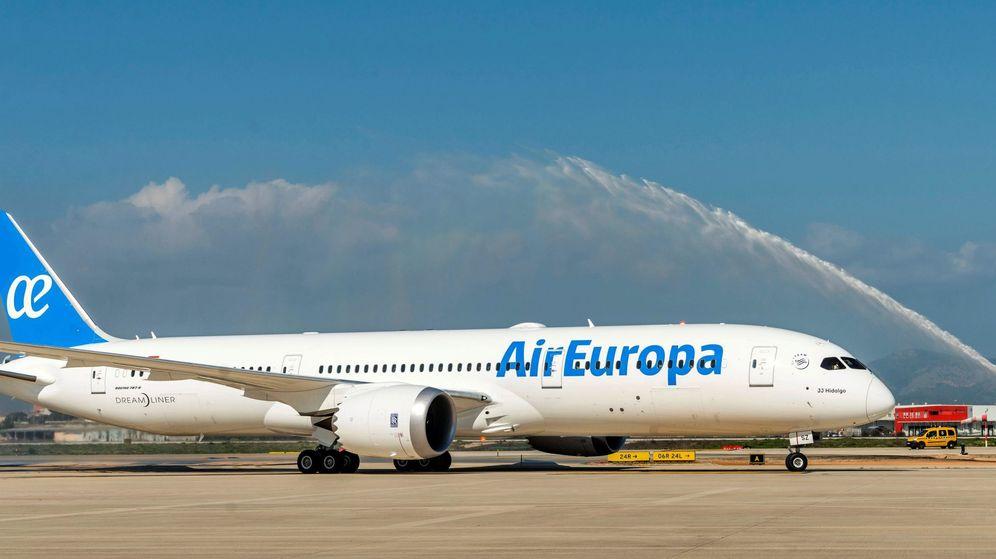 Foto: Avión de Air Europa. (EFE)