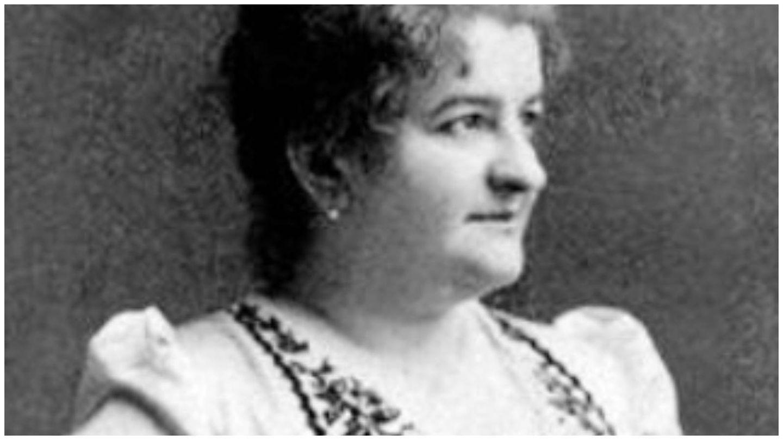 Emilia Pardo Bazán, en un grabado. (Archivo de Casa Museo Emilia Pardo Bazán)