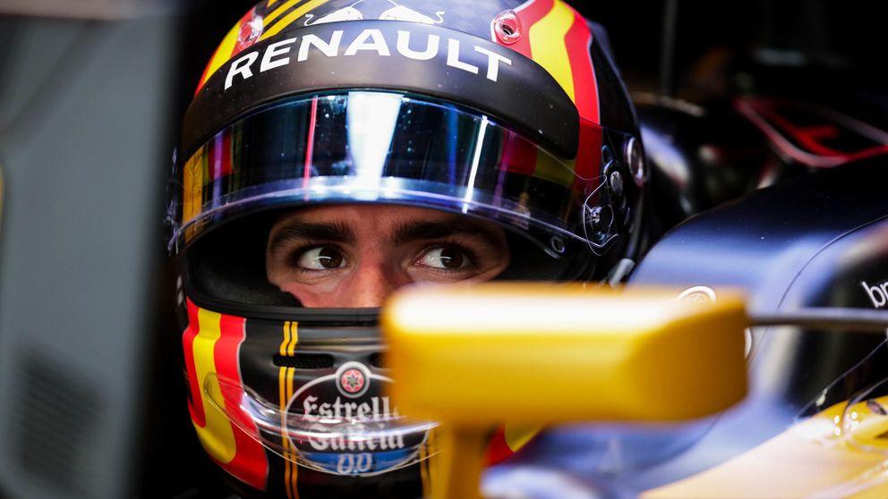 Sainz, entre un gran P8 en parrilla y un desagradable encontronazo con Massa