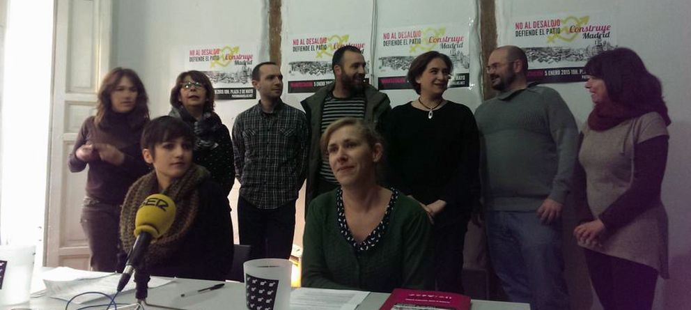 Foto: Imagen de las últimas jornadas en defensa del Patio Maravillas (@patiomaravillas)