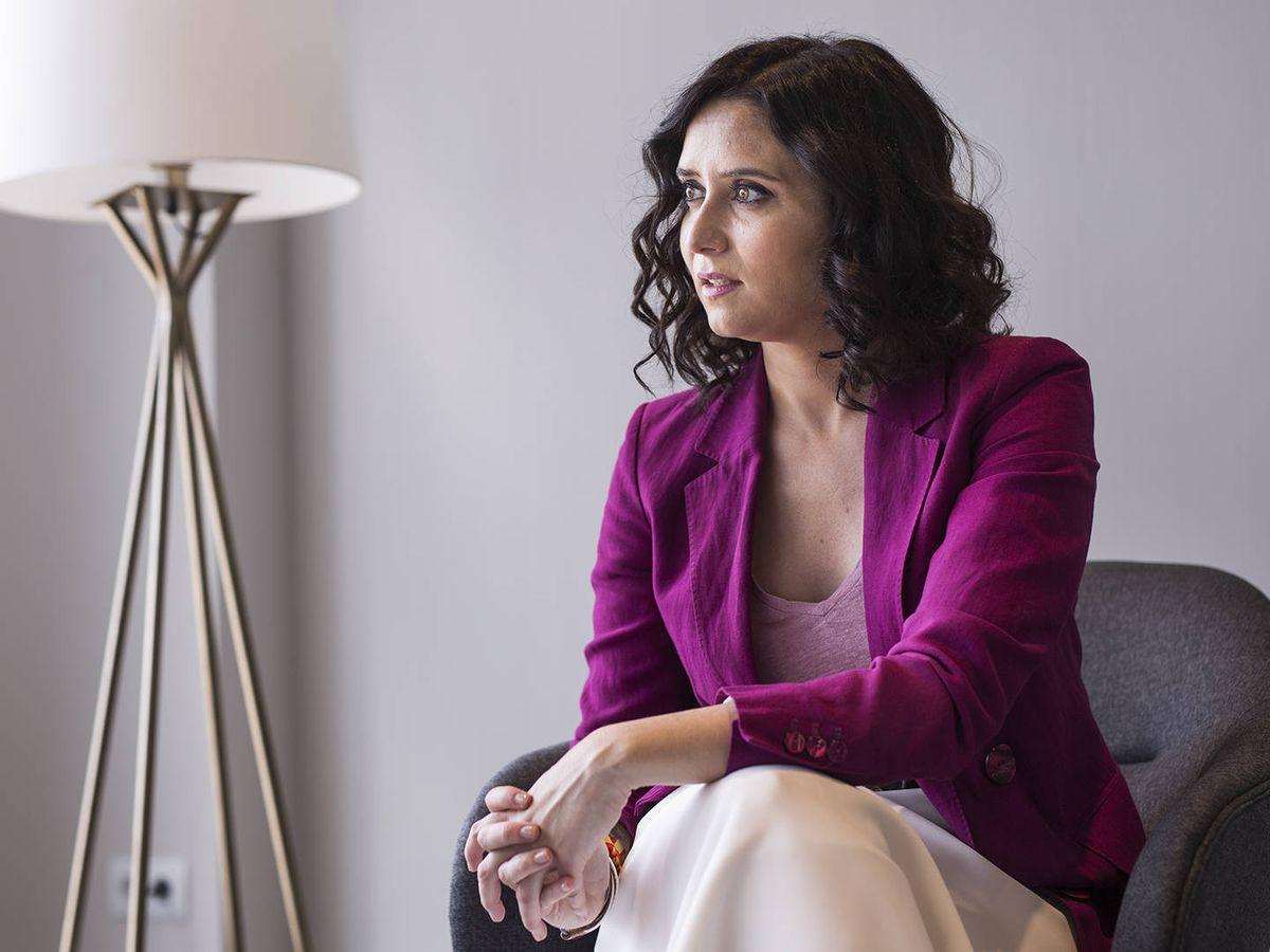 Foto: Isabel Díaz Ayuso, presidenta de la Comunidad de Madrid. (Alejandro Martínez Vélez)