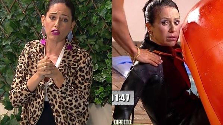 'La casa fuerte': críticas a Nuria Marín por no socorrer a Maite Galdeano cuando se estaba ahogando