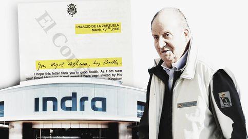 Juan Carlos I medió ante la realeza saudí para que Indra optara a contratos en Arabia
