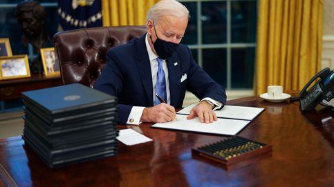 Biden frena el muro con México en uno de sus primeros decretos como presidente