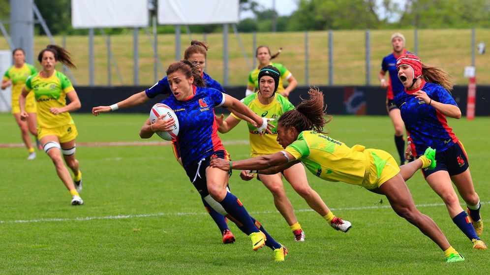 Foto: El rugby español estará presente por partida doble en los Juegos de Río.