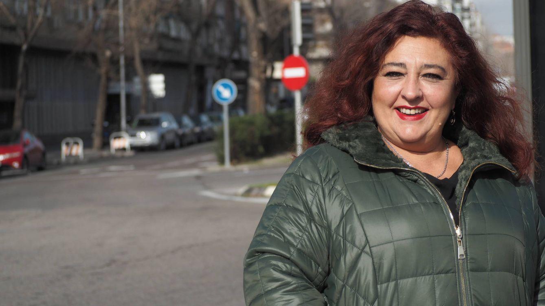 Foto: Con 50 años, Raquel se vio en la ruina y con 12 bocas que alimentar. (Verónica García)