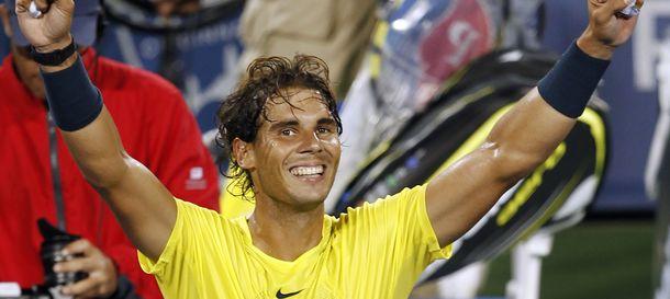 Foto: Nadal puede alcanzar el número dos de vencer a Isner (Reuters).