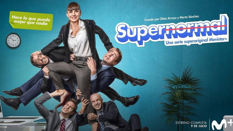 Foto promocional de 'Supernormal', la última serie española estrenada por Movistar+