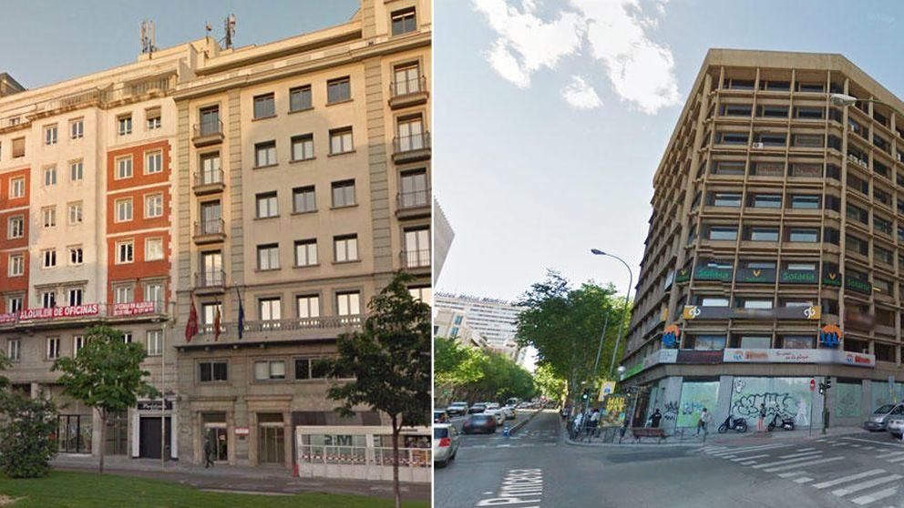Las sedes de los partidos: PP-C's eligen zona 'vip'; PSOE-Podemos, secundaria