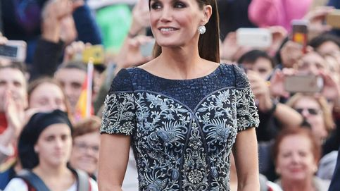 La curiosa norma de la reina Letizia con los vestidos lucidos en los Premios Princesa de Asturias