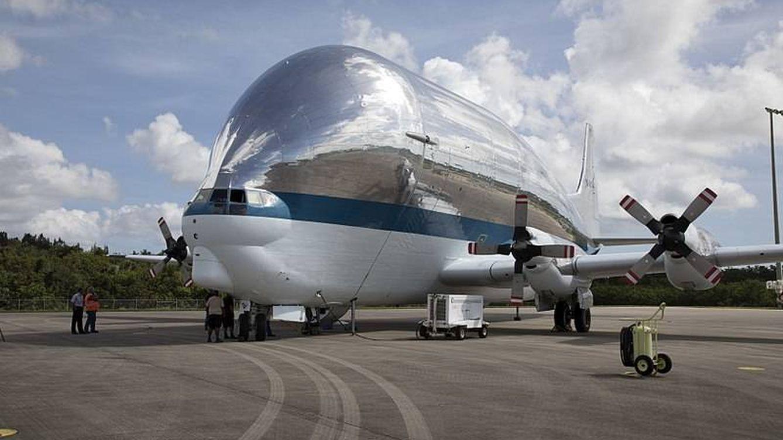 Super Guppy: el avión que esconde la nave con la que la NASA volverá a la Luna