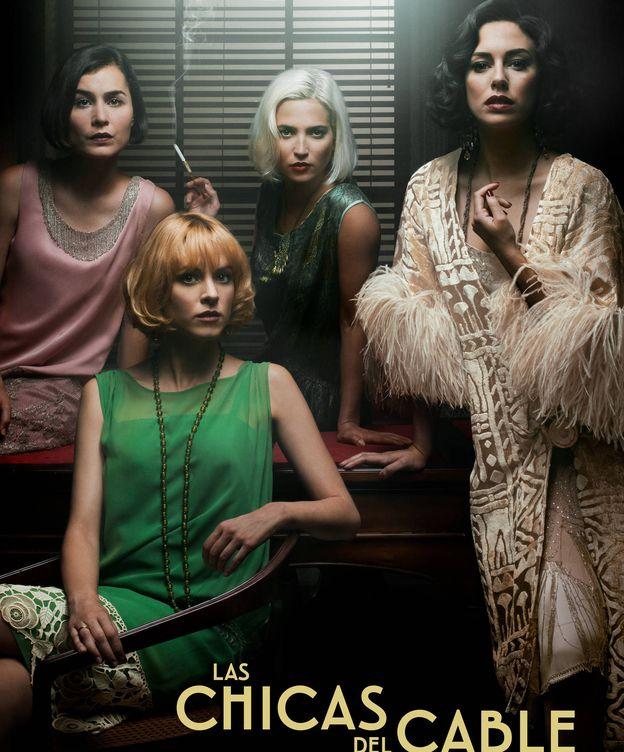 Foto: Póster de la segunda temporada de 'Las chicas del cable'. (Netflix)