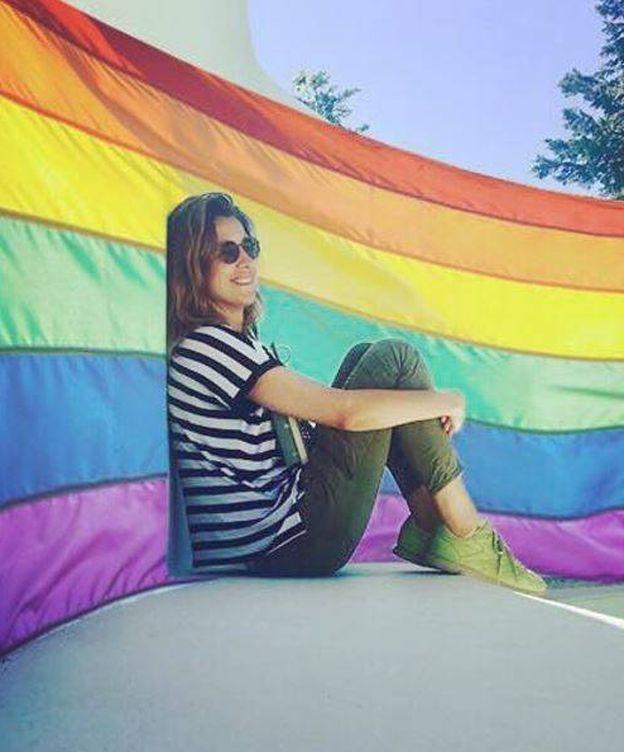 Foto: Sandra Barneda lanza un mensaje en el Orgullo Gay.