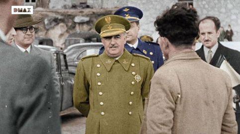 Así son las imágenes en color de la posguerra y la dictadura franquista
