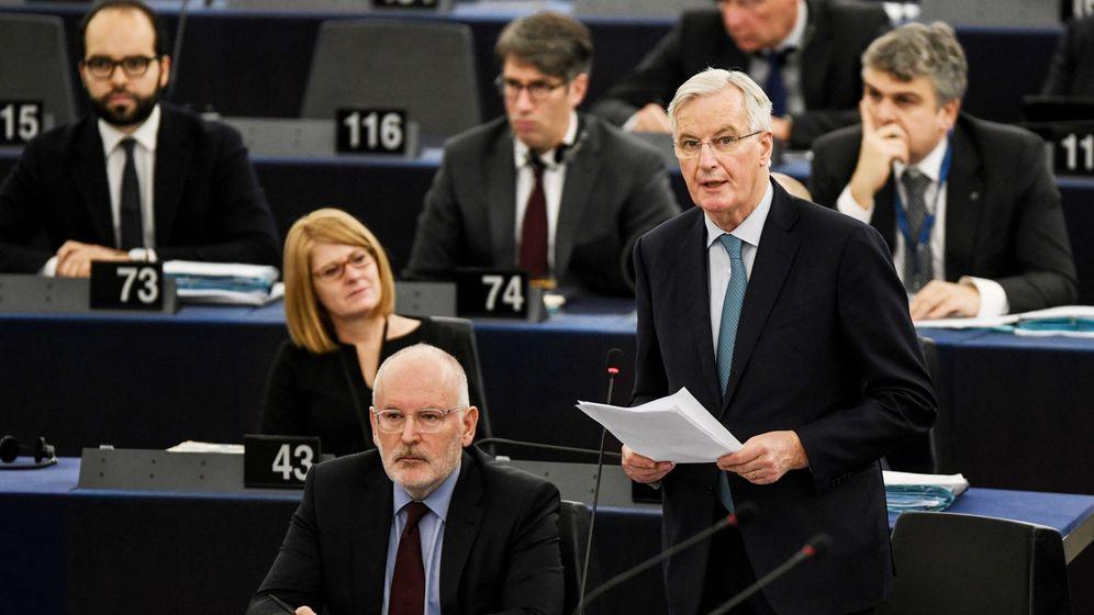 Foto: El negociador europeo para el brexit, Michel Barnier, este miércoles. (EFE)