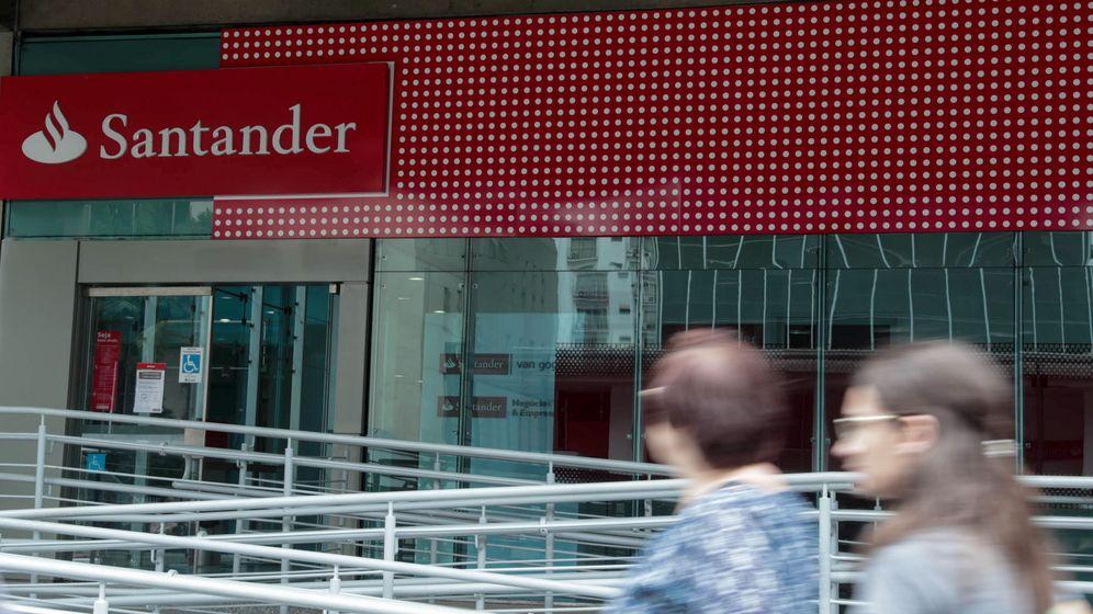 Foto: Oficina de Banco Santander Brasil. (EFE)