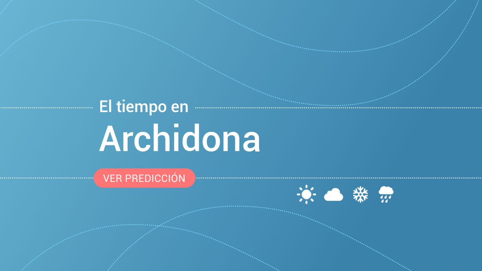 Foto: El tiempo en Archidona. (EC)