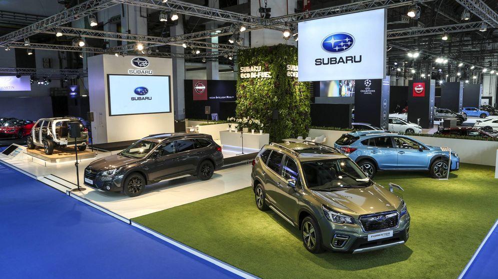 Foto: En el stand de Subaru se mostraron los nuevo e-boxer y la gama Eco de la marca japonesa.