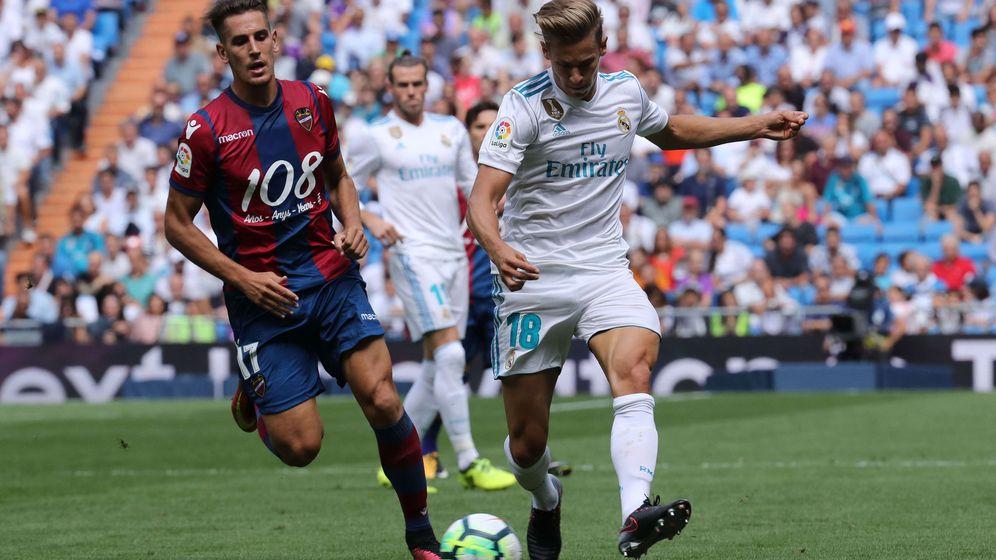 Foto: Marcos Llorente es uno de los jugadores del Real Madrid que más interés ha recibido de otros equipos. (EFE)