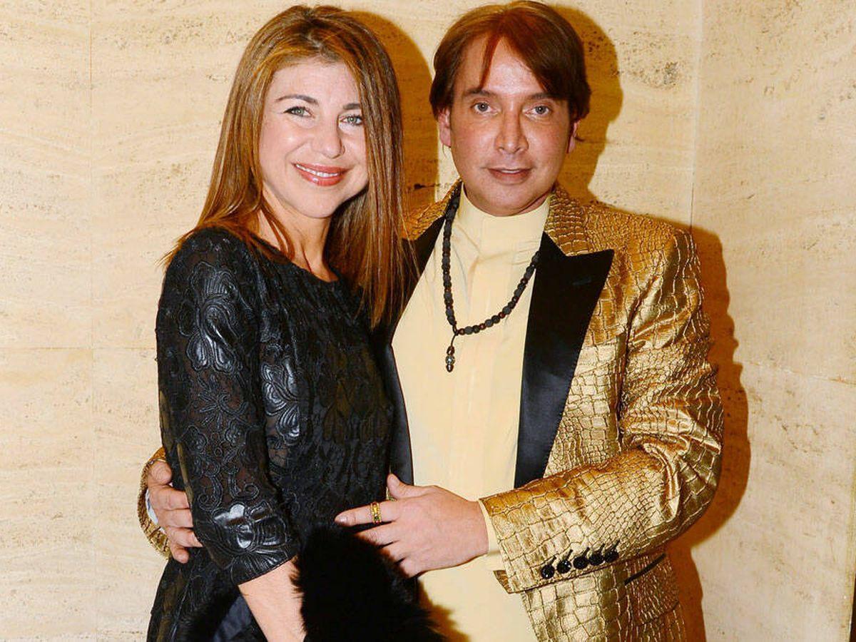 Foto: Ahmed Ashmawi, con Carolyn Mahboubi en 2014. (Cordon Press)