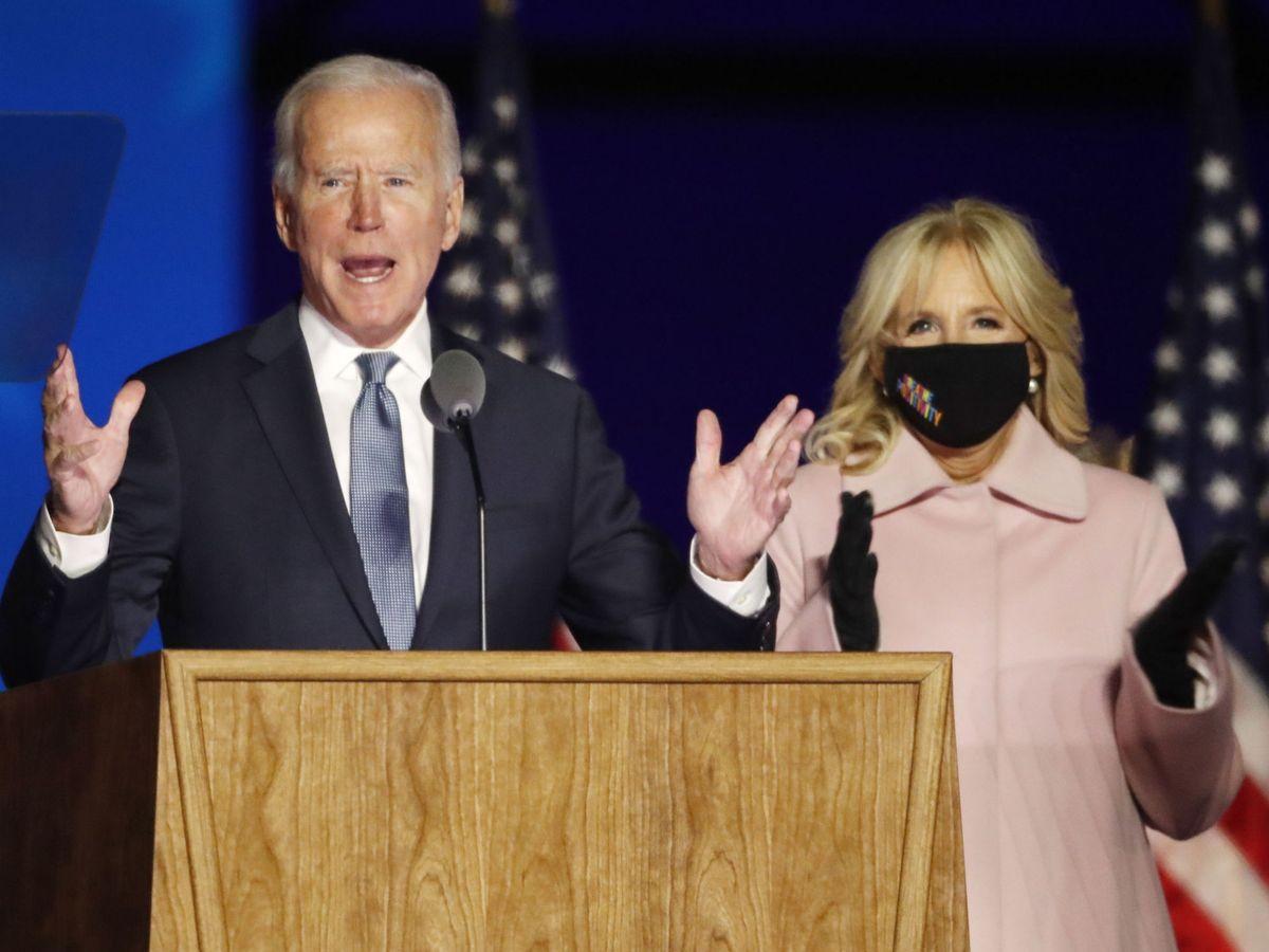 Foto: Joe y Jill Biden. (EFE)