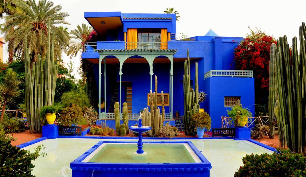 Foto: De los 'saintlaurentianos' Jardines Majorelle a La Mamounia. Los rincones cool de Marrakech están aquí.