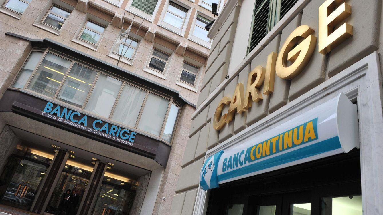 Italia cierra un acuerdo con inversores privados para salvar a Banca Carige