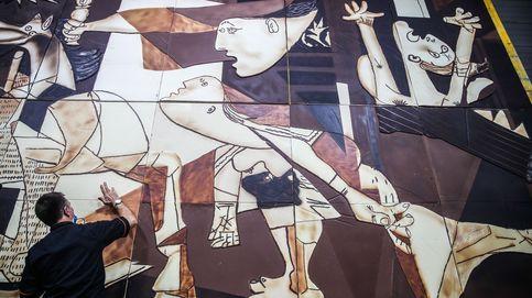 Versión en chocolate del 'Guernica' de Pablo Picasso