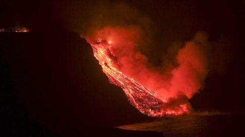 Así ha sido la llegada al mar de la lava del volcán de La Palma