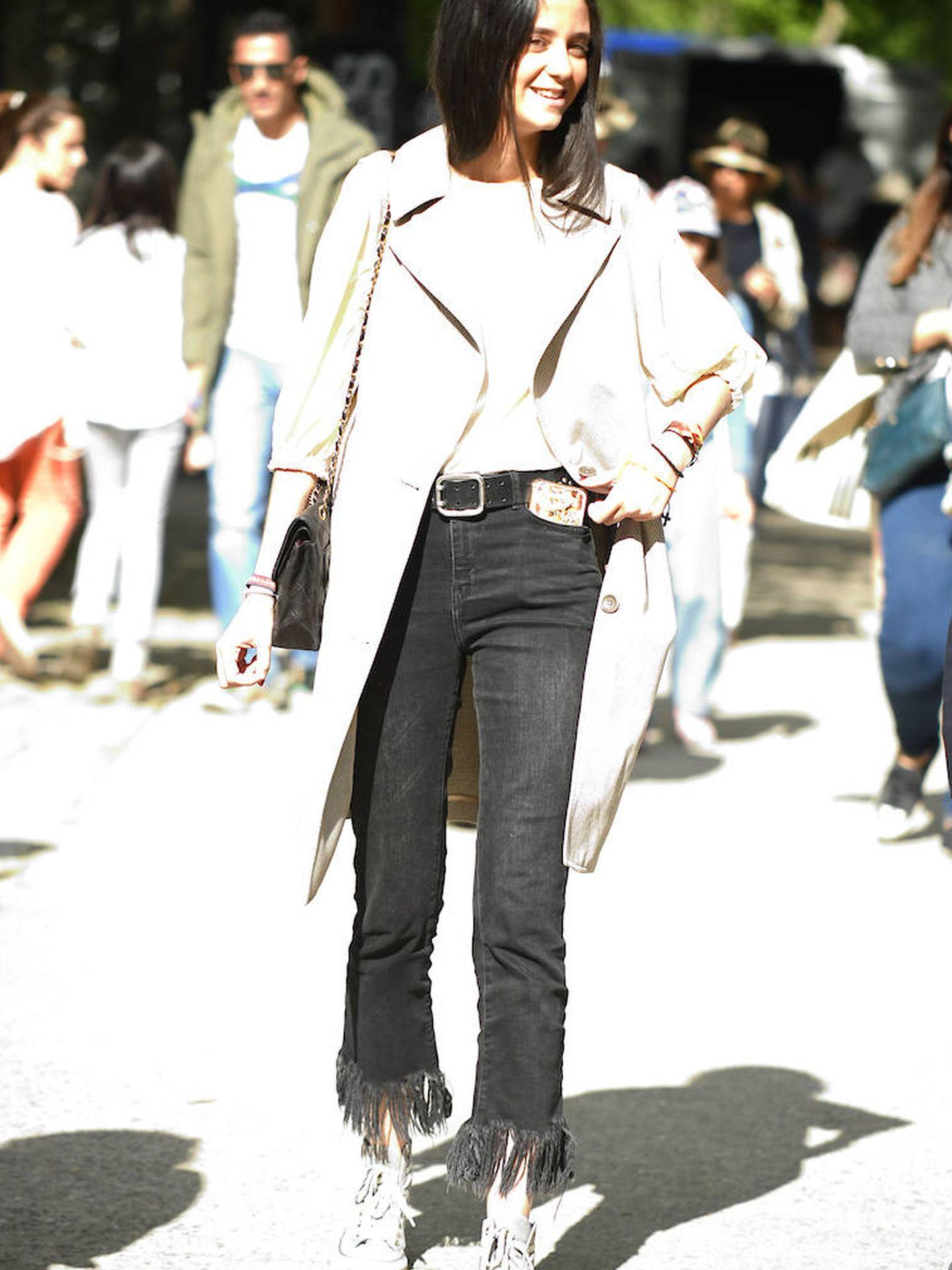 Victoria Federica y uno de sus looks geniales. (Limited Pictures)