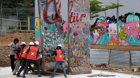 Indonesia expone cuatro bloques del Muro de Berlín
