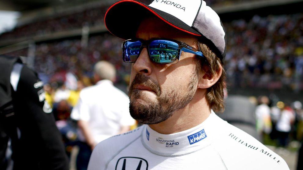 Alonso, contento: Un paso adelante importante. El coche era competitivo