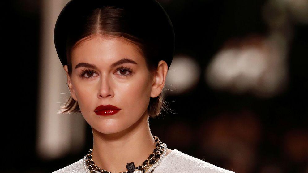 Foto: Kaia Gerber, en el último desfile de Chanel. (Reuters)