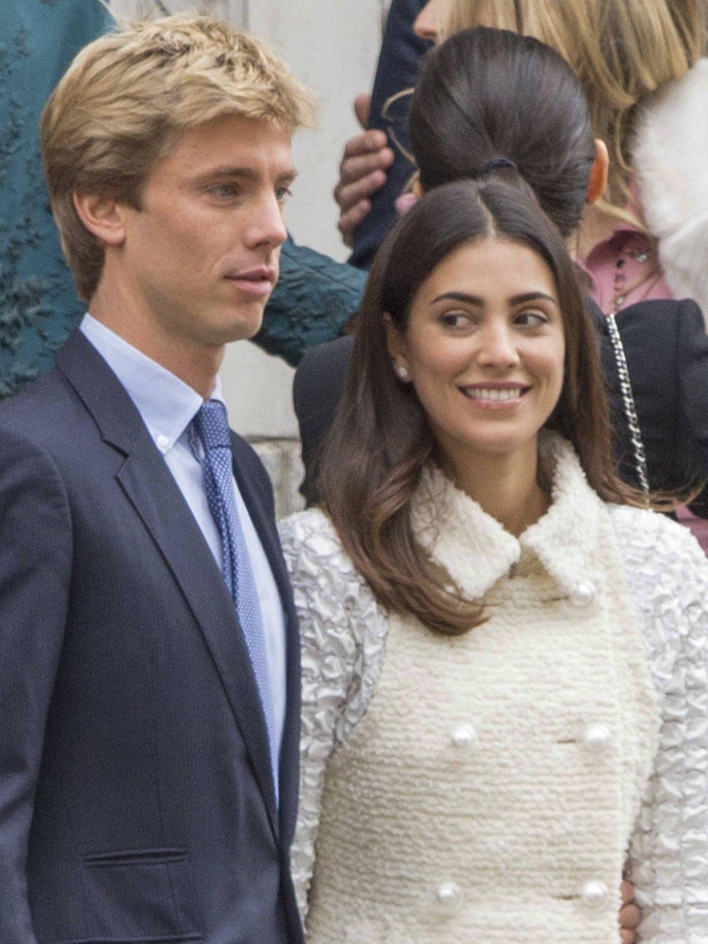 Christian de Hannover y Sassa de Osma en su boda civil en Londres. (Gtres)