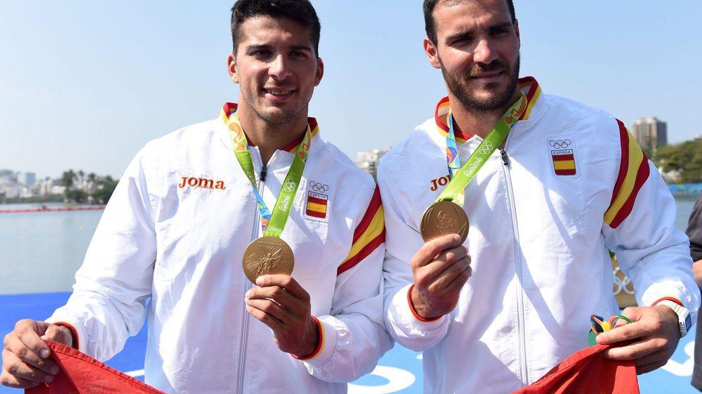 Foto: Saúl Craviotto y Cristian Toro ganaron una medalla de oro en los Juegos Olímpicos de Río 2016 (EFE)
